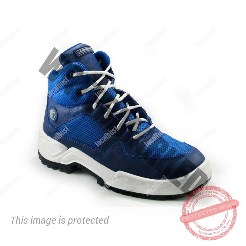 Bota NBA azul lateral